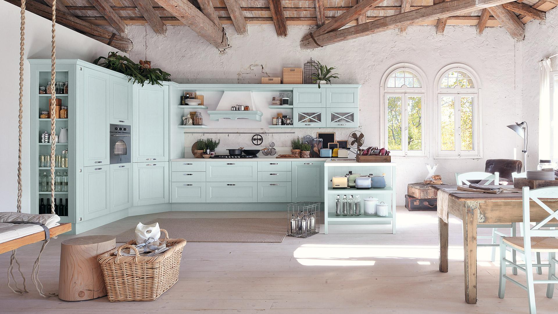 Cucina Shabby Chic Provenzale.Agnese Euro Interior Collection